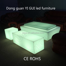 Color Chaging LED Light Furniture Events table or cooking table for sale