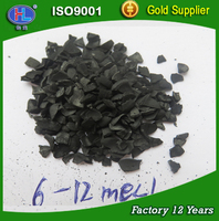 6*12 mesh Coconut shell Activated carbon for gold refining