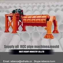 precast concrete pipe/pile machine