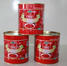 Traditional 28-30% Tomato Paste 100% without additives