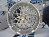 Deep dish gloss wheels, 18 inch aftermarket rotiform silver for sale