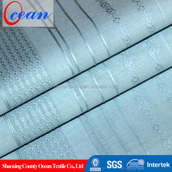 high quality cotton jeans twill fabric wholesale, navy blue and white stripe fabric
