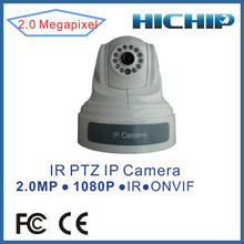 High Quality Dome Camera 1080P 2.0 Megapixel Indoor IP PTZ Camera , Two way audio with 15m IR Distance