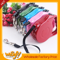 Hot selling pet dog products high quality retractable dog lead