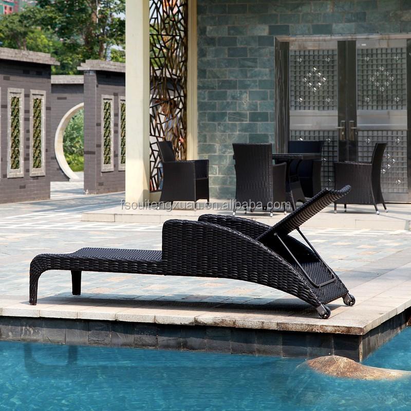 Bali rattan salone di mobili per esterni rattan piscina sdraio, sedie ...