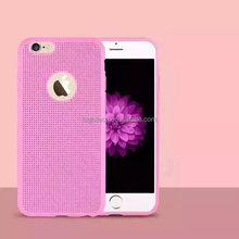 Honeycomb Dot Grid Soft TPU Silicone Gel Hard Case Cover Skin Fit For iPhone 6 plus/6s plus 5.5""