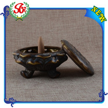 SGR194 Antique Thailand Incense Burners Smoke,Soapstone Incense Burner
