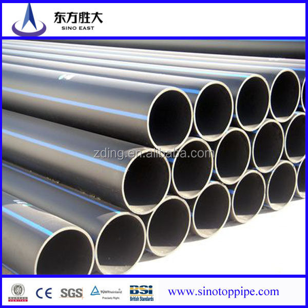 PE solid wall pipe takes HDPE as raw material vacuum forming through extruding. It is the flex-tubing with smooth and flat internal and external wall. & smooth and flat internal wall HDPE pipes