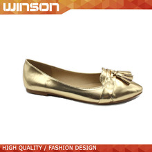 pointed toe design casual women flat shoes