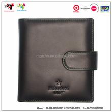 Brand RFID wallet real leather RFID blocking travel wallet men