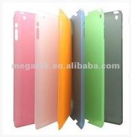 Tablet case cover ultra thin matte pc crystal case for ipad 2 3 4, for ipad case pc