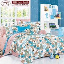 Made in china textile bed set, bed pillowcase,bedspread, baby bedding for kids
