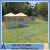 Black dog cages/ Dog runs with roof