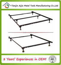 Double size metal tube bed frame