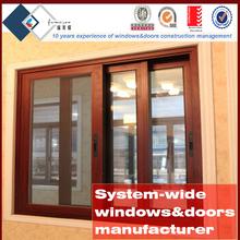 Aluminium doors and windows aluminium double glass sliding window