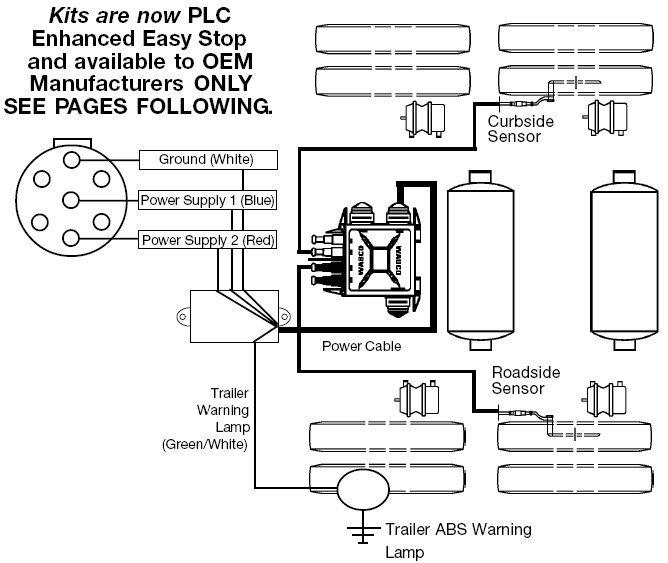 Meritor Wabco Parts : Abs electric configuration s m meritor wabco