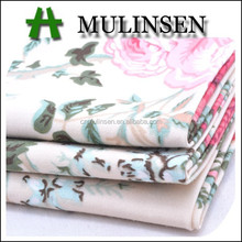 Mulinsen Textile 2015 Hot Summer Floral Design Woven Dyed Print Factory Direct Stretch Cotton Wholesale Poplin Fabric For Shirts