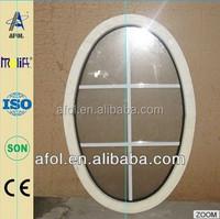 AFOL aluminum windows window bar grill oval windows