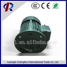 High revolving speed 380v 0.75kw three phase asychronous fan motor