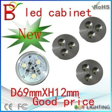 Boy brand dimmable Aluminum alloy 12v AC/DC 3w led cabinet