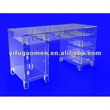 Executive Clear Acrylic Plexiglass Desk