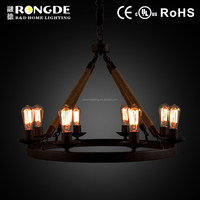Contemporary antique modern table chandeliers lamp for weddings