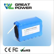 lithium LiFePO4 24V 10Ah electric bike or scooter battery pack