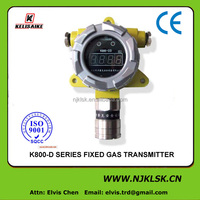 CE certificate fixed natural gas leak detector with range 0-100 %LEL K800-CH4