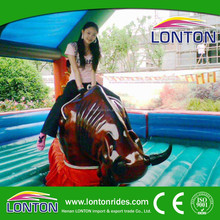 Funfair amusement rides adult or children play interesting mechanical bull for sale