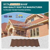 Material Stone Coaed Metal Roof Shingle Tile