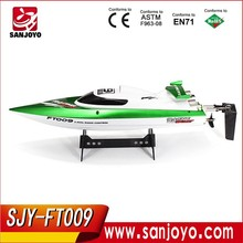 Ucuz toptan wl912 yüksek hızlı tekne oyuncaklar ft009 rc tekne rc balık yemi teknesi anti- eğim fonksiyonu.
