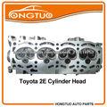 Motor de gasolina completo de la culata de motor toyota partes 2e Corolla/Starlet/Tercel