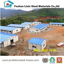 China high quality steel structure construction prefabricated house for office warehouse school in Indonesia