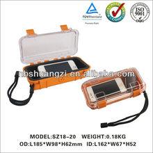 hard waterproof IP67 plastic Tool Case/plastic small hard carrying case