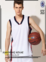 Basketball Jersey Design Breathable Sport Clothing Basketball Clothes Suit Vest Custom Printed Numbers And Letters