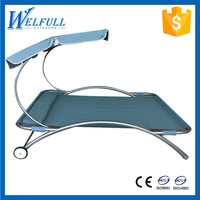 Luxury Balcony Swing Bed, Indoor Swing Bed, Iron Swing Bed