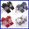 China wholesale 2015 fashion women winter thick cotton alpaca wool gloves