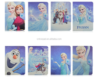 Cartoon Frozen Girl PU Leather Case for universal tablet