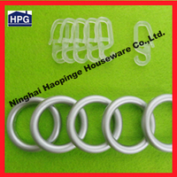 2014 simple designed but hot sell curtain accessories of hooks