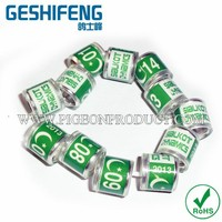 free shipping 300pc clear transparent plastic hot in Pakistan with star moon PK flag pigeon ring