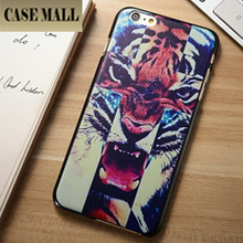 Tiger Image Plastic Cover For iPhone 6/ Case Cover For iPhone 6
