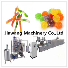 China Wholesale Custom fruit jelly equipment\gummy candy deposit forming machine\jelly bean candy making production line