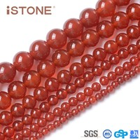 12MM Round Raw Agate Beads For Jeweerly