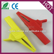 safety shrouded Plastic Alligator clip