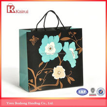 Professional mould design factory supply art paper bags for shopping