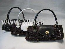 Levina 04 Scramble Rattan handbag