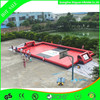 Factory outlet red inflatable water soccer arena for sale