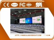 ABT outdoor led display indoor p6 led display P2.5,P4,P6,P8,P10,P12.5, p20 p16 SMD or DIP 4mm video cube wall