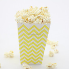 Birthday Favor Goody Candy Food Boxes Gift Box Wedding Party Cinema Popcorn Boxes