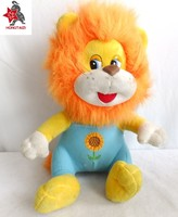 Customized toy lion wholesale fluffy animal sitting lion toy animal plush
